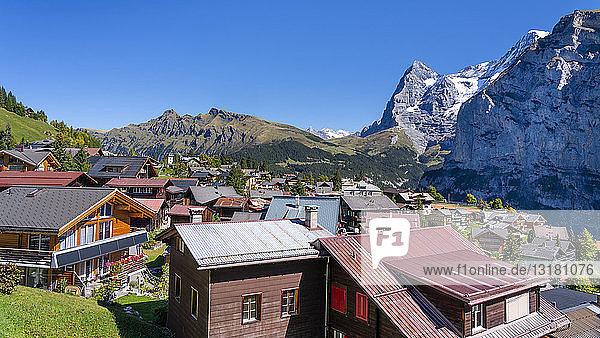 Switzerland  Bernese Oberland  Eiger  Moench  Muerren