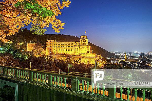 Deutschland  Baden-Wuerttemberg  Heidelberg