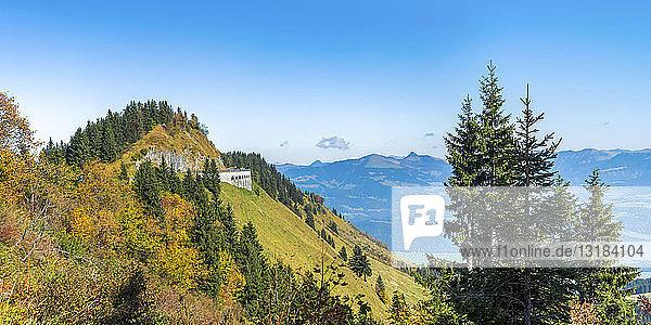 Deutschland  Bayern  Rossfeld-Landschaftsstraße
