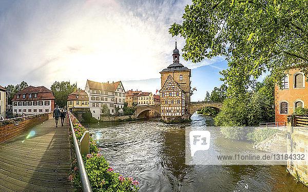 Deutschland  Bayern  Bamberg  Altstadt  Altes Rathaus