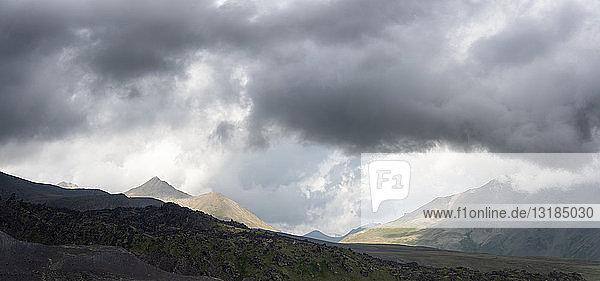 Russia  Upper Baksan Valley  Caucasus  Mount Elbrus