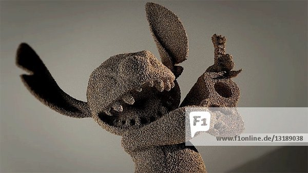 Disintegrating Sand Animal  CGI Effect