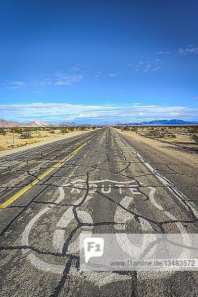 Historic Route 66  Ludlow  Kalifornien  USA  Nordamerika