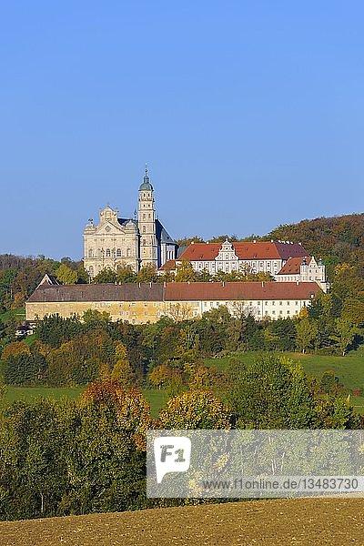 Benediktinerkloster  Abtei Neresheim  Neresheim  Baden-Württemberg  Deutschland  Europa