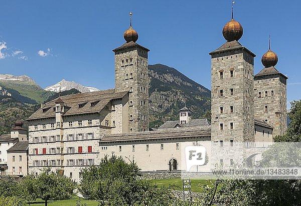 Stockalperpalast  Brig  Brig-Glis  Wallis  Schweiz  Europa