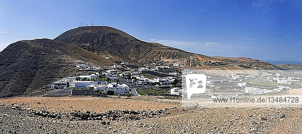 Bergdorf Femes  Femes  Lanzarote  Kanarische Inseln  Spanien  Europa