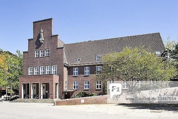 Altes Rathaus  Wedel  Schleswig-Holstein  Deutschland  Europa