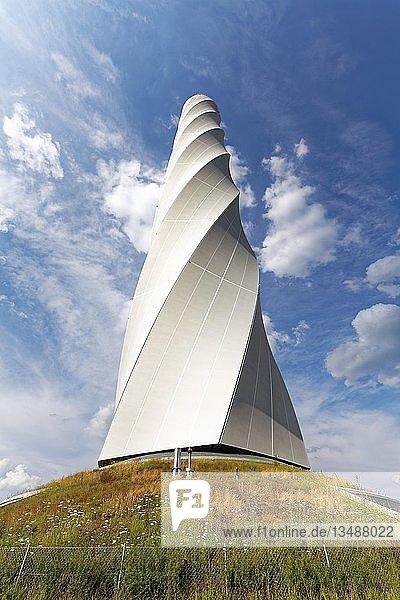 Thyssenkrupp Testturm für Aufzüge mit Besucherplattform  Rottweil  Baden Württemberg  Deutschland  Europa