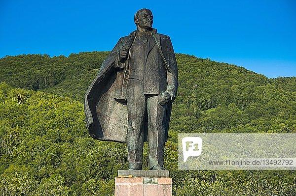 Lenin-Statue in Petropawlowsk-Kamchatsky  Kamchatka  Russland  Europa