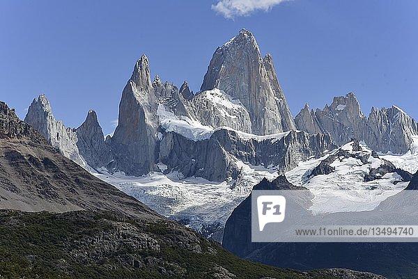 Cerro Fitz Roy  Nationalpark Los Glaciares  El Chaltén  Provinz Santa Cruz  Patagonien  Argentinien  Südamerika