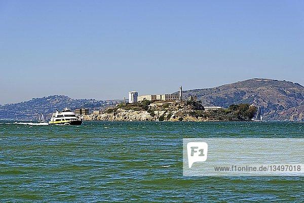 Ehemalige Gefängnisinsel Alcatraz  San Francisco  Kalifornien  USA  Nordamerika