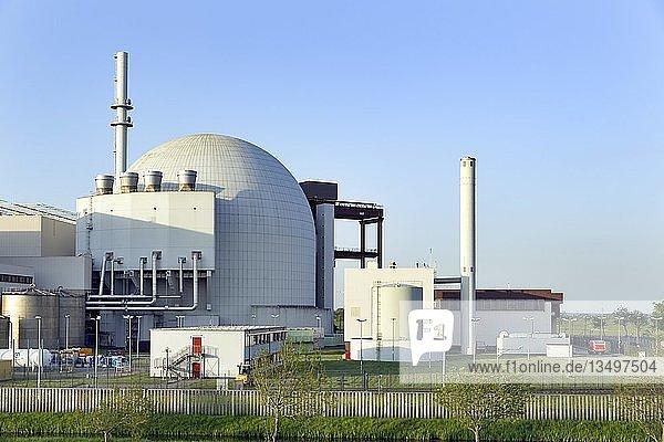 Kernkraftwerk Brokdorf  Brokdorf  Kreis Steinburg  Schleswig-Holstein  Deutschland  Europa