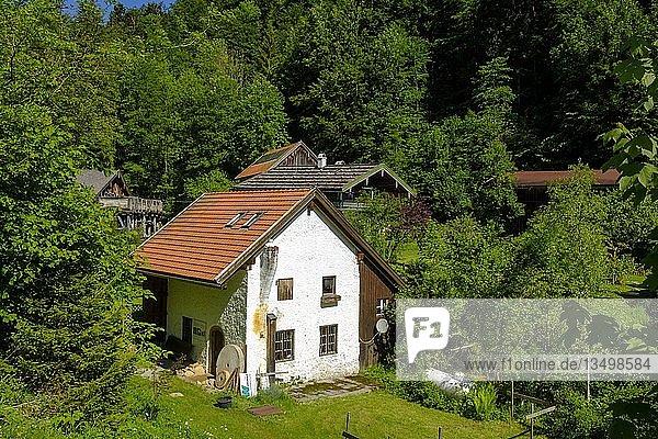 Museum Glockenschmiede  Ruhpolding  Chiemgau  Oberbayern  Bayern  Deutschland  Europa