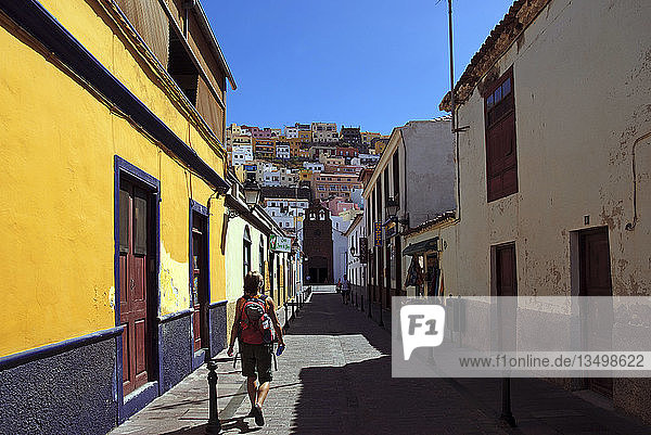 San Sebastian  La Gomera  Kanarische Insel  Spanien  Europa