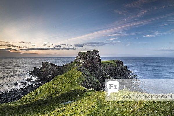 Brother's Point  Rubha nam Brathairean  felsige Küste  Isle of Skye  Innere Hebriden  Schottland  Großbritannien  Großbritannien  Europa