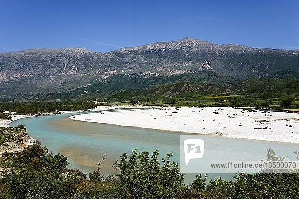 Fluss Drino bei Humelice  SH4  Albanien  Europa