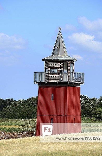Stillgelegter Leuchtturm  Nordsee  Dagebüll  Schleswig-Holstein  Deutschland  Europa