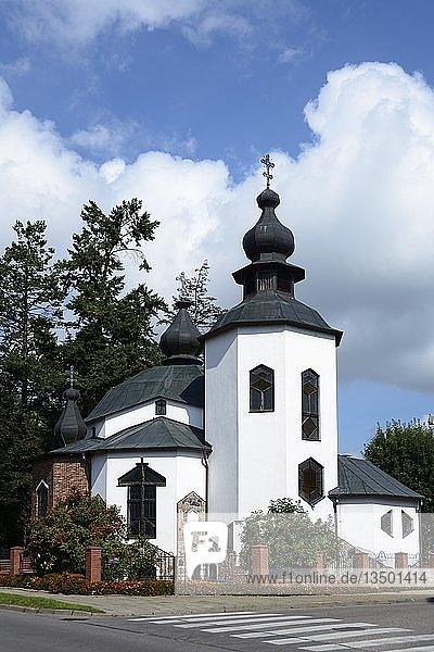 Kirche  Gizycko  Ermland-Masuren  Polen  Europa