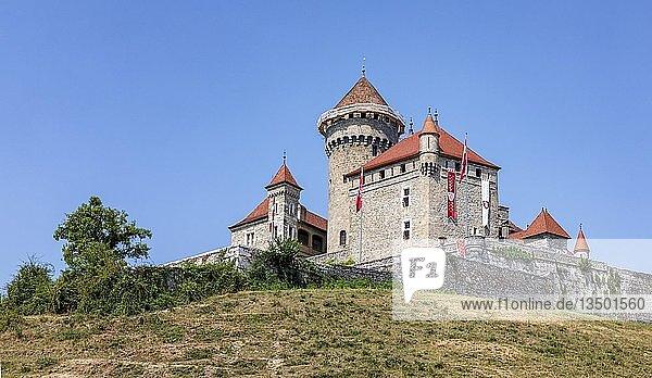 Chateau de Montrottier  Haute-Savoie  Frankreich  Europa