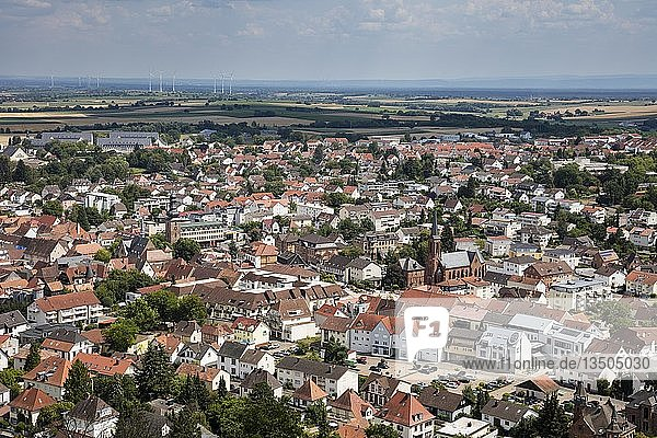 Stadtansicht  Bad Bergzabern  Rheinland-Pfalz  Deutschland  Europa