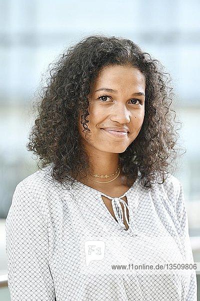 Young woman  photoshoot  business  portrait  Munich  Bavaria  Germany  Europe