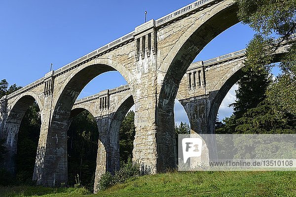 Viadukt bei Stanczyki  Ermland-Masuren  Polen  Europa