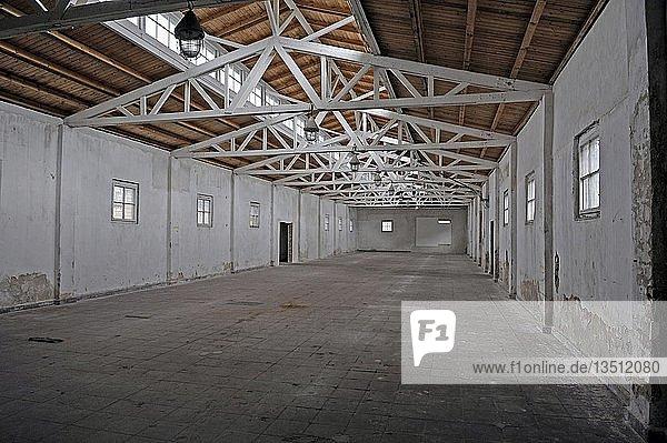 Arbeitsbaracke des Frauenkonzentrationslagers Ravensbrück  Brandenburg  Deutschland  Europa