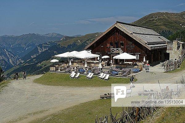 Stieralm  2000m  Nauders am Reschenpass  Vinschgau  Südtirol  Italien  Europa