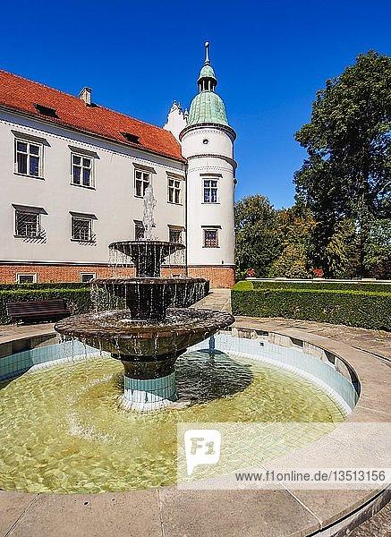 Baranow Sandomierski Schloss  Woiwodschaft Unterkarpaten  Polen  Europa