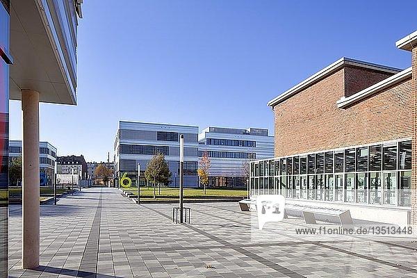 Zentraler Campus Derendorf der Hochschule Düsseldorf  ehemaliges Gelände Schlösser-Brauerei und Schlachthof  Düsseldorf  Rheinland  Nordrhein-Westfalen  Deutschland  Europa