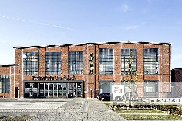 Fakultät Management  Kultur und Technik der Hochschule Osnabrück  Campus Lingen  Lingen  Lingen  Emsland  Niedersachsen  Deutschland  Europa