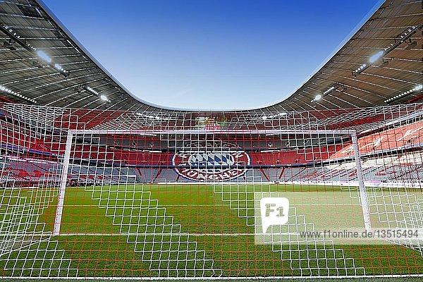 Neue Gestaltung der Tribünenplätze  Allianz Arena  München  Bayern  Deutschland  Europa