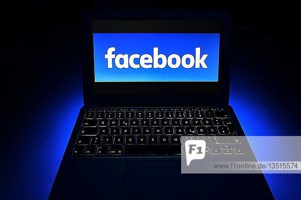 Symbolbild Cybercrime Facebook  Computerkriminalität  Datenschutz  Deutschland  Europa