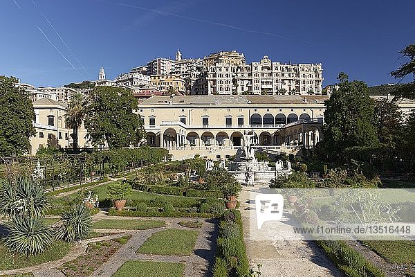 Villa des Prinzen  Villa del Principe  Palast des Andrea Doria  Genua  Ligurien  Italien  Europa