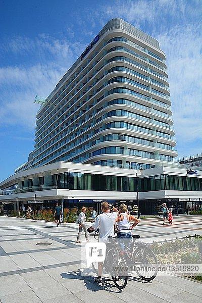 Radisson Blue Hotel  Swinemünde  Westpommern  Polen  Europa
