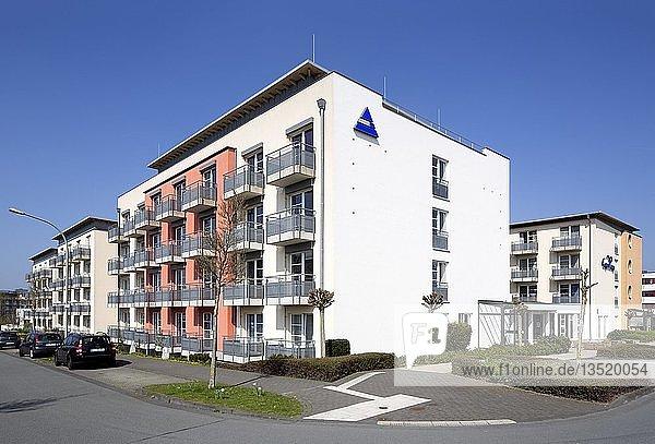 Campus Lounge  Boarding House und Tagungszentrum am Hauptcampus der Universität Paderborn  Paderborn  Ostwestfalen  Nordrhein-Westfalen  Deutschland  Europa