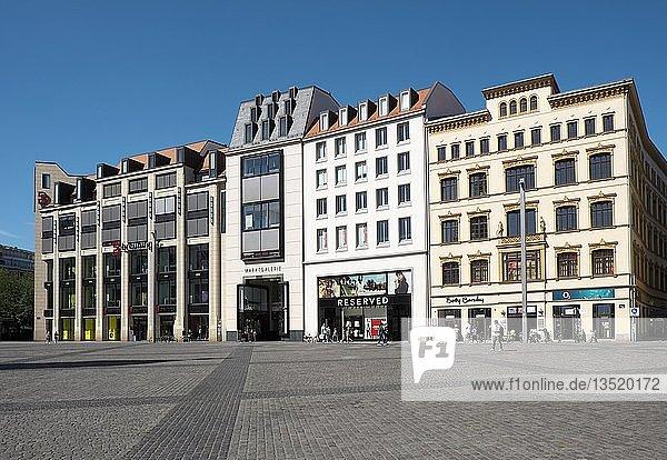 Marktgalerie  Markt  Leipzig  Sachsen  Deutschland  Europa