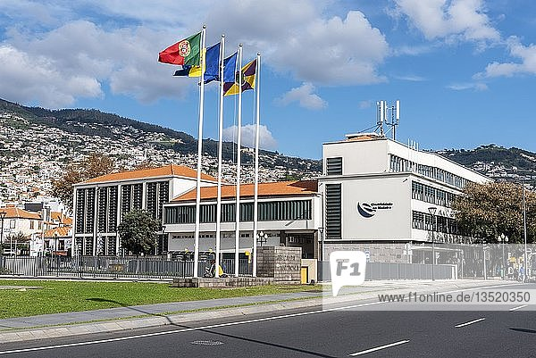 Museum der Elektizität  Elektricidade da Madeira  Funchal  Insel Madeira  Portugal  Europa