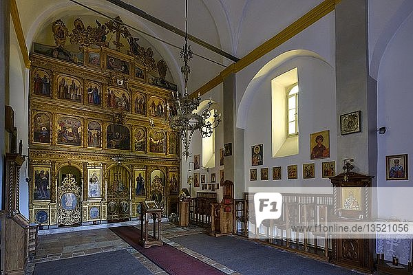 Klosterkirche  orthodoxes Kloster Praskvica  bei Budva  Adriaküste  Montenegro  Europa