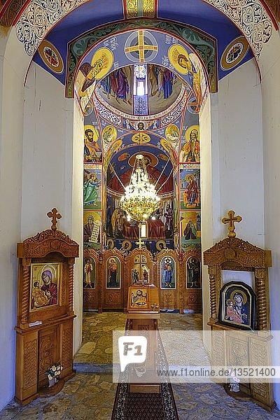 Kirche Svetog Jovana Krstitelja  bei Bijelo Polje  Montenegro  Europa