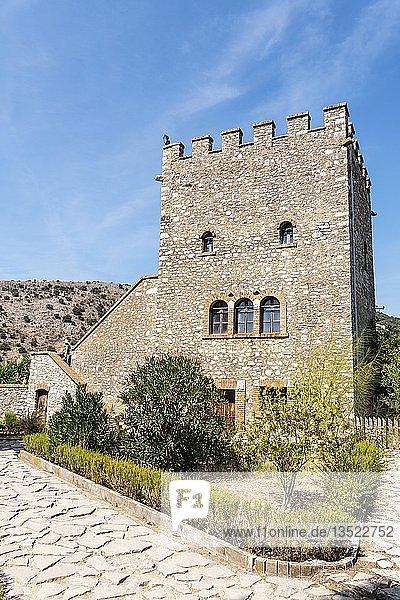 Venezianische Burg  antike Stadt Butrint  Nationalpark Butrint  Saranda  Albanien  Europa