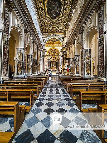 Sant'Andrea Kathedrale  Amalfi Kathedrale  Amalfi Region  Unesco Weltkulturerbe  Sorrento Halbinsel  Amalfi Küste  Kampanien  Italien  Europa