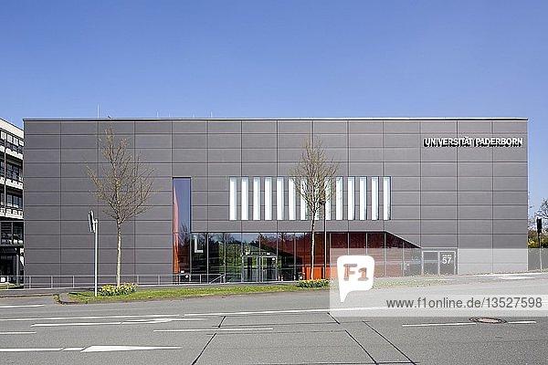 Universität Paderborn  Hauptcampus  Hörsaal- und Seminargebäude  Paderborn  Ostwestfalen  Nordrhein-Westfalen  Deutschland  Europa
