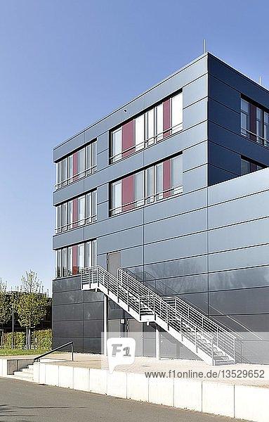 Universität Paderborn  Erweiterungsgebäude am Standort Zukunftsmeile  Paderborn  Ostwestfalen  Nordrhein-Westfalen  Deutschland  Europa