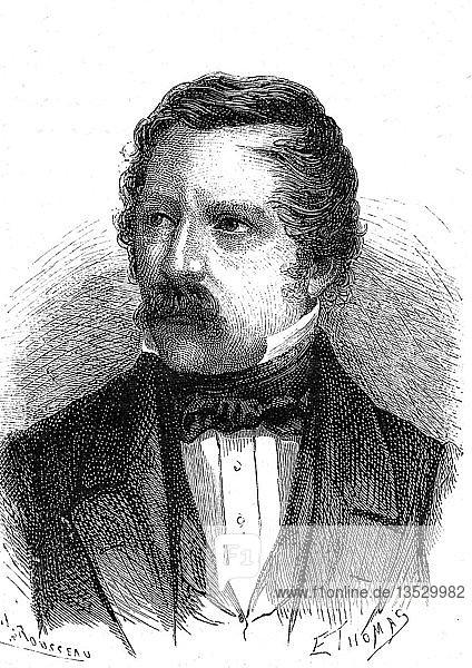 Carl August von Steinheil  1801-1870  deutscher Physiker und Ingenieur  1868  Frankreich  Europa