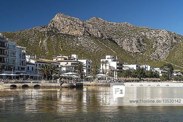 Port de Pollenca  Mallorca  Balearen  Spanien  Europa