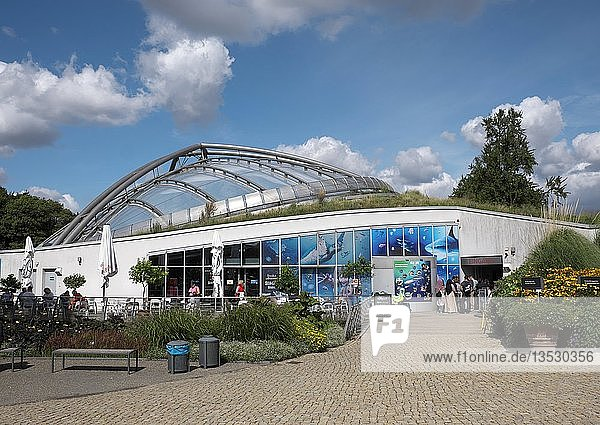 Sea Life Aquarium  Berggarten  Herrenhäuser Gärten  Hannover  Niedersachsen  Deutschland  Europa