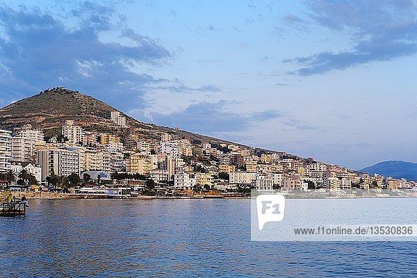 Saranda  Sarandë  Qark Vlora  Ionisches Meer  Albanien  Europa