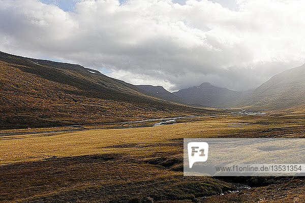 Landscape  East-Iceland  Iceland  Europe