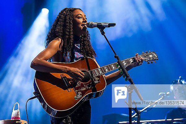 The British soul singer Corinne Bailey Rae live at the Blue Balls Festival Lucerne  Switzerland  Europe